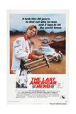 The Last American Hero, from Top: Jeff Bridges, Valerie Perrine, 1973 Kunstdrucke