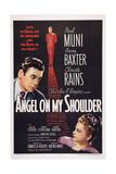 Angel on My Shoulder, from Left: Paul Muni, Claude Rains, Anne Baxter, 1946 Plakater