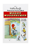 Woody Woodpecker, Chilly Willy (Bottom Left), Ca. Mid 1950s Poster