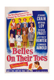 Belles on Their Toes, US, 1952 Plakater