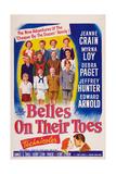 Belles on Their Toes, US, 1952 Art