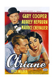 Love in the Afternoon, (aka Ariane), 1957 Poster