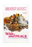 War and Peace, (Aka Voyna I Mir), 1966 Pôsters