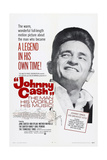 Johnny Cash-The Man, His World, His Music, Johnny Cash, 1969 Poster