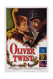 Oliver Twist, John Howard Davies, Robert Newton, 1948 Poster