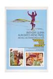 Zorba the Greek (aka Alexis Zorbas), Anthony Quinn, 1964 ポスター