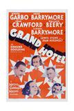 Grand Hotel, 1932 Print