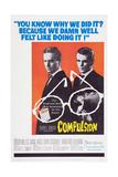 Compulsion, Orson Welles, Dean Stockwell, 1959 Plakater