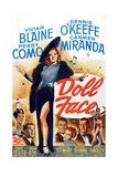 Doll Face, Carmen Miranda, Perry Como, Vivian Blaine, Dennis O'Keefe, Martha Stewart, 1946 Print