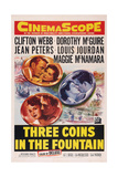 Three Coins in the Fountain Posters