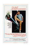 Thunderbolt and Lightfoot, Clint Eastwood, 1974 Poster