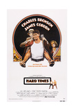 Hard Times, Top from Left: James Coburn, Charles Bronson, Jill Ireland, 1975 Poster