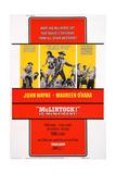 Mclintock!, 1963 ポスター