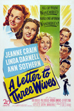 A Letter to Three Wives Print