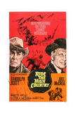 Ride the High Country, Randolph Scott, Joel Mccrea, Mariette Hartley, 1962 Posters
