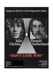 Don't Look Now, 1973 Plakater