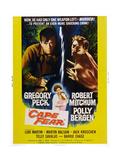 Cape Fear, Gregory Peck, Polly Bergen, Lori Martin, Robert Mitchum, 1962 ポスター
