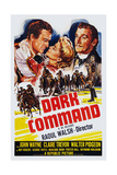 Dark Command, 1940 Posters