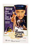 The Terror of the Tongs, from Left: Yvonne Monlaur, Christopher Lee, 1961 Poster
