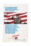 Patton, George C. Scott, 1970 Poster