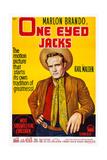 One-Eyed Jacks, Marlon Brando, 1961 Kunstdrucke