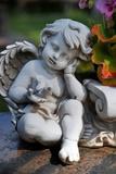 Sculpture of an Angel Foto von Frank May