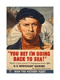 You Bet I'm Going Back to Sea! Affiches