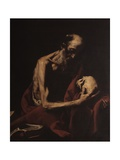 St. Jerome in Meditation Posters by Jusepe de Ribera