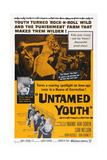 Untamed Youth, 1957 Posters