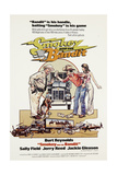 Smokey and the Bandit, from Left: Jackie Gleason, Burt Reynolds, Sally Field, 1977 Poster