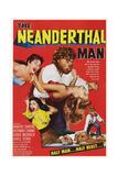 The Neanderthal Man, Robert Shayne (Top), 1953 Pôsters
