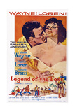 Legend of the Lost, John Wayne, Sophia Loren, 1957 ポスター