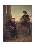Beatrice di Tenda and Orombello Print by Giuseppe Giani