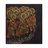Procession of Armed Angels Prints by Guariento Di Arpo