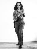 California Conquest, Teresa Wright, 1952 写真