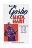 Mata Hari, Greta Garbo, 1931 Posters