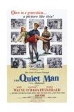 The Quiet Man, Maureen O'Hara, John Wayne, Barry Fitzgerald, 1952 Posters