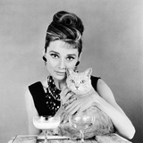 Breakfast at Tiffany's, Audrey Hepburn, 1961 Photographie