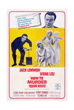 How to Murder Your Wife, Jack Lemmon, Virna Lisi, 1965 Poster