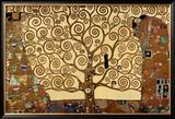 A Árvore da Vida Poster por Gustav Klimt