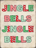 Jingle Bells Blechschild