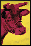 Cow, c.1966 (Yellow and Pink) Framed Giclee Print by Andy Warhol