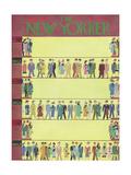 The New Yorker Cover - September 22, 1956 Premium Giclee Print by Charles E. Martin