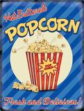 Pop-corn Plaque en métal