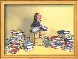 Matilda Posters por Quentin Blake
