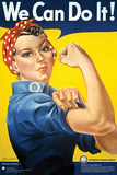 Smithsonian- Rosie The Riveter Kunstdruck
