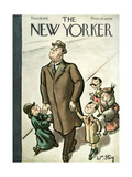 The New Yorker Cover - November 19, 1932 Premium Giclee Print by William Steig