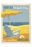 Giorno perfetto Poster di  Anderson Design Group