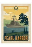 Navy Pearl Harbor Prints by  Anderson Design Group