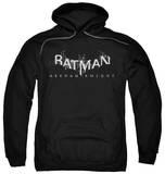 Hoodie: Batman: Arkham Knight - Arkham Knight Splinter Logo Pullover Hoodie